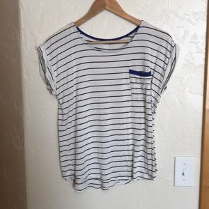 Striped blue and white nice t-shirt